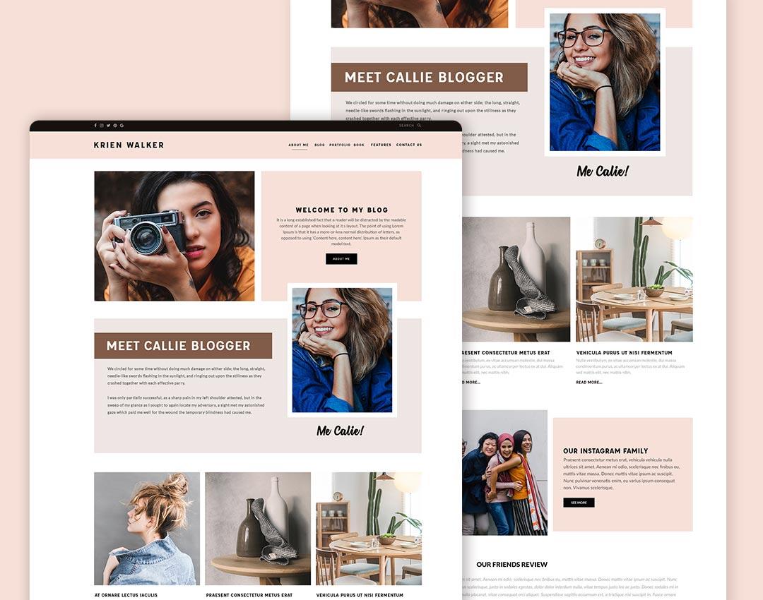modern website design templates