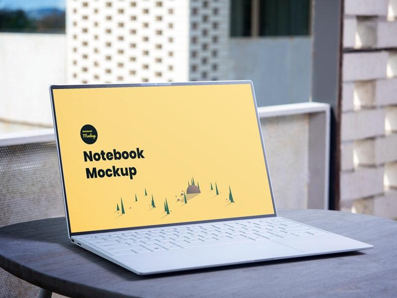notebook-psd-mockup
