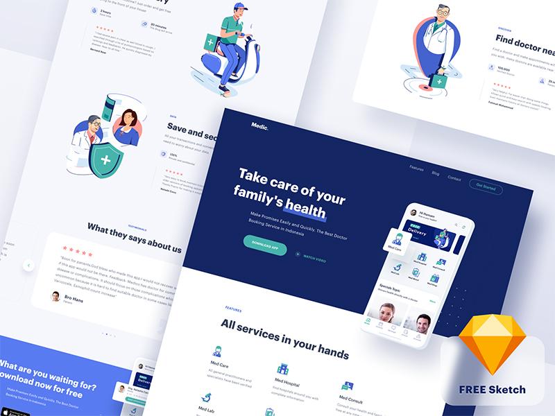 Medical-App-Website-Thumb